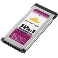 ExpressCard Reader 12 in 1