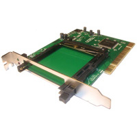 PCI to PCMCIA Adapter - 16 and 32bit  (P2 Compliant)