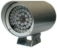 MEDIUM RANGE IR illuminator 48 LED - 30° - 50 m