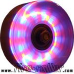 Pack of 4 x Quad / SkateBoard LED Lighted Wheels