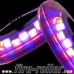 Pack of 4 x KickBoard LED Lighted Wheels